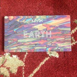 Nyx Earth palette